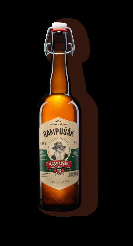 Rampušák lahvové pivo Rampušák 12