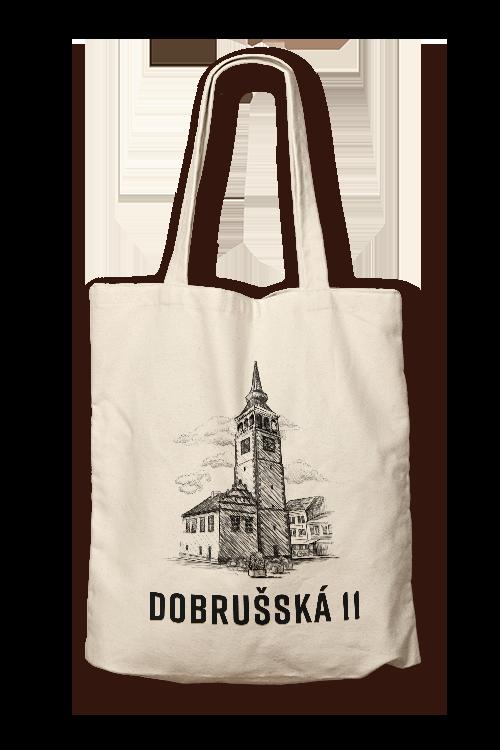 dobrušská 11 plátěná taška rampušák