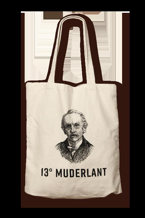 muderlant 13 plátěná taška rampušák