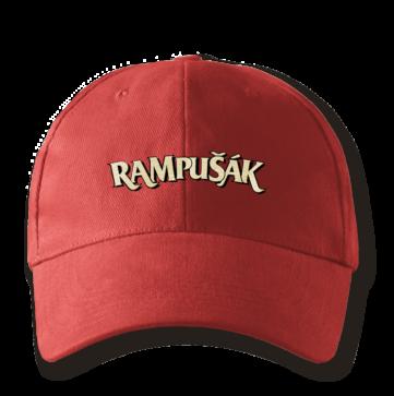 Kšiltovka baseballka červená